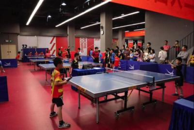 龙岗区青少年二人团体乒乓球联赛举行