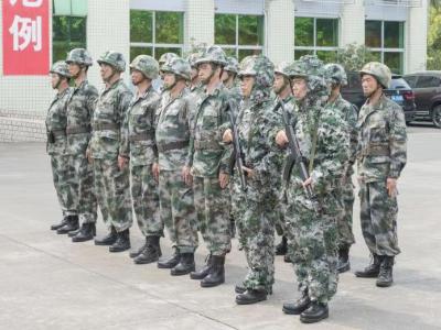 实战砺精兵!深圳警备区组织民兵骨干集训