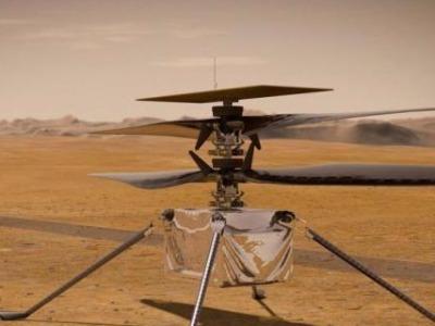 首飞推迟!美国火星直升机测试时发现潜在问题