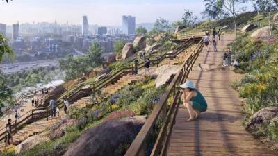 深圳将添一座山体崖壁公园!安托山自然艺术公园正式开工,2023年建成开放