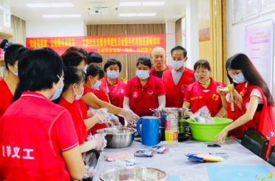 """横岗志盛社区:以""""党史学习+传承民俗""""形式开展志愿者团建"""