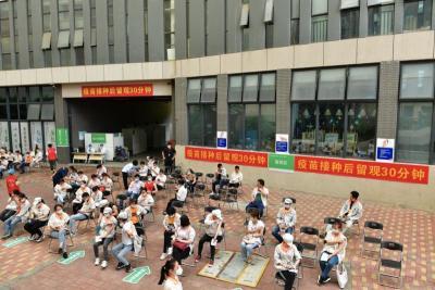 (宝安)新桥街道:4000名企业员工接种新冠病毒疫苗