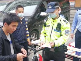 蝶变东晓丨东晓街道持续开展交通安全宣传活动