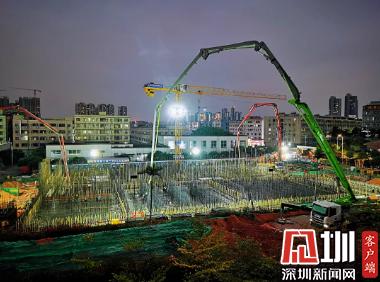 学史力行|工程提速显担当!深水龙岗水务集团苗坑二期扩建工程项目全面推进建设进度