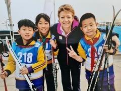 """走近冬奥 """"我目睹了北京冬奥会的完美筹划""""—国际滑雪联合会主席候选人莎拉·刘易斯"""