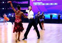 (体育)(2)体育舞蹈——中国公开系列赛(上海站)揭幕