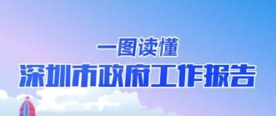 (罗湖)干货满满,与你相关!一图读懂深圳市政府工作报告