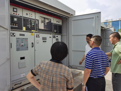 大鹏新区应急管理局开展电池储能企业安全生产督导检查