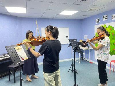 快看过来!2021暑期小提琴免费体验课程即将开启,敬请期待!