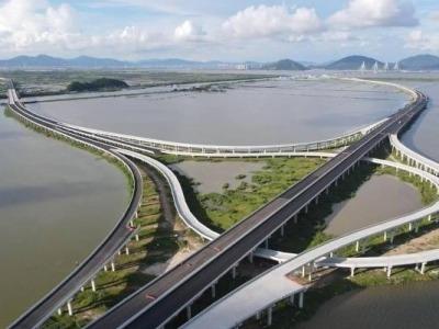 珠海鹤港高速一期工程加快推进,预计于航展前通车!