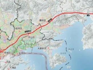 30分钟直达深汕特别合作区!深汕铁路先开段主体工程开始施工
