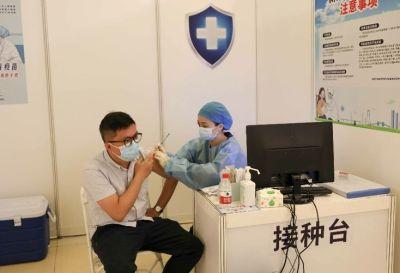 深圳会展中心新冠疫苗集中接种点正式启用