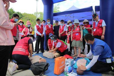 参与式体验,互动式学习|南山区举行第13个全国防灾减灾日活动