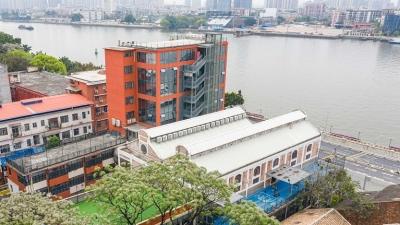 历史建筑活化利用难题怎么解?广州百年仓库变身时尚幼儿园