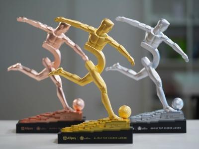 欧洲杯发布首座区块链奖杯:中国设计师创作,灵感来源小篆