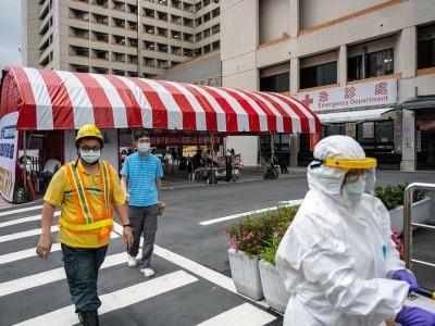 台湾新增511例本土病例,新增死亡38例现新高