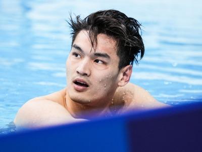 带病游出赛季最好成绩,徐嘉余男子100米仰泳获得第五