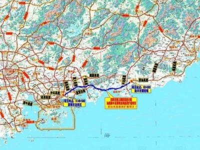 重大利好!深汕西高速深汕段将新增赤石、鹅埠互通出入口