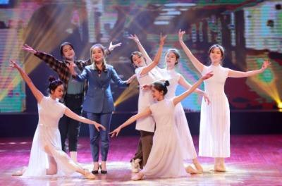 文明歌,文明城,深圳首场创文音乐歌舞剧在宝安首演