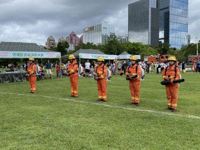 """2021年""""深圳市森林消防公众开放日活动""""在莲花山举行,一年一度的森林特别防护期来了"""