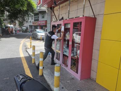 玉塘街道开展消防安全治理 推进文明城市创建