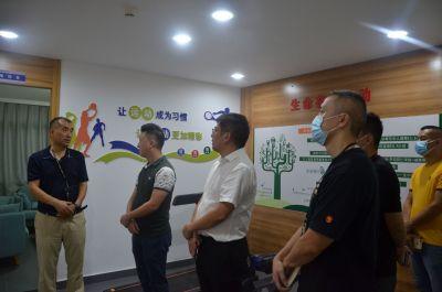 龙华区禁毒办组织参观罗湖区翠竹街道平安教育基地