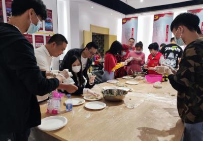 龙田街道:暖暖饺子香,以心交心连情谊