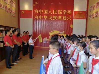 44个重要红色地标!宝安区壆岗小学学生沿着21条研学线路寻踪党史