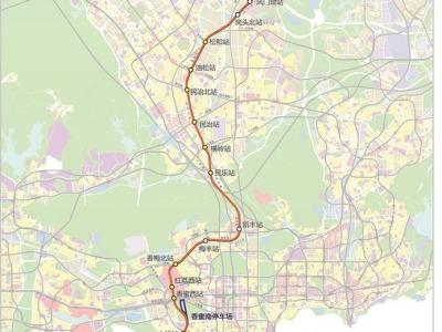 地铁22号线规划方案公布