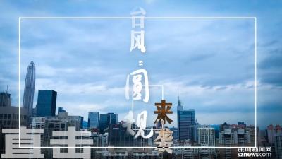 """IN视频   风大雨急继续停课,深圳全城直击台风""""圆规""""动向"""