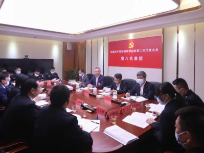 杨军参加坪山区第二次党代会各代表团分组讨论