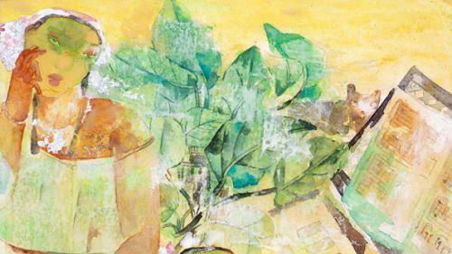 夏至日,去深圳画院看陶艺与重彩作品展