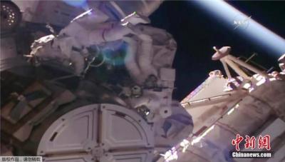 国际空间站突发故障 宇航员紧急维修