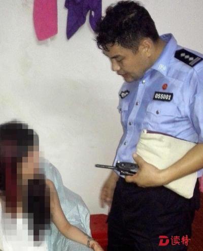 大雨夜,龙岗民警地毯式寻人救下轻生女子