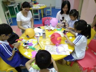 绘本故事分享+亲子手工坊,这个中秋节有点不一样