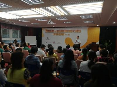 全国女性公益慈善组织能力建设培训班在罗湖举办