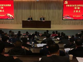 革命老区农村党支部书记培训班在深开班