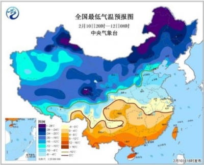 寒潮蓝色预警解除 北方大部地区升温