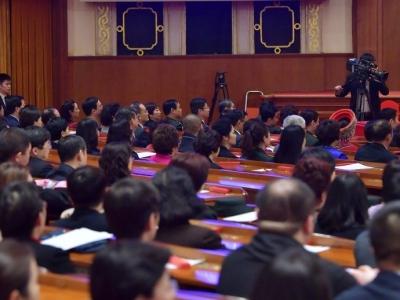 政协十三届一次会议主席团常务主席会议第二次会议举行