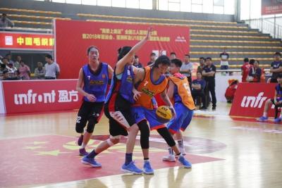 """""""我要上奥运""""全国三人篮球女子擂台赛在东莞落幕"""