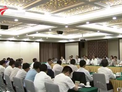 甘肃省政府代表团来粤考察推动两省合作