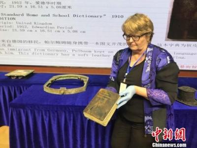 泰坦尼克文物抵达武汉开箱 场景复原重现巨轮传奇