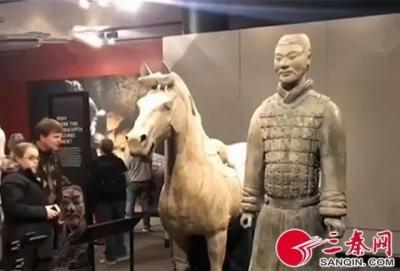 中国兵马俑展品被盗走手指,美国费城向中方书面道歉