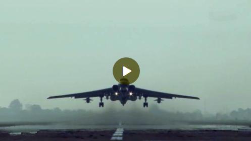 """震撼!中国空军发布""""战神""""强军宣传片"""