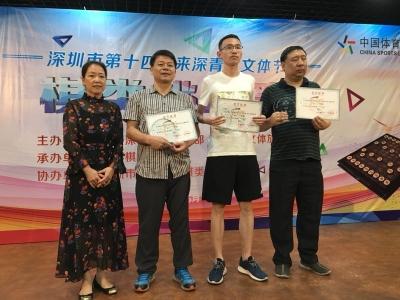 一年一度如约而至 深圳市外来青工围棋赛开赛