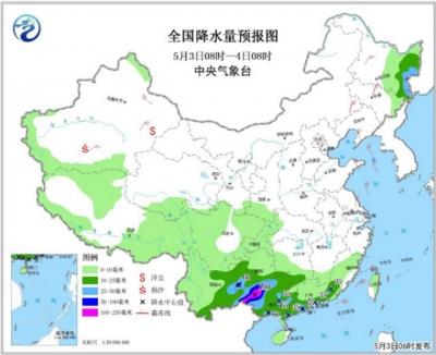 五月第一周天气如何?广东等3省区仍有暴雨