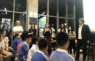 关注联合国可持续发展目标 深圳青年学子在行动