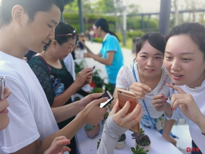 """微信""""识花君""""小程序上线,拍张照认识深圳的花草树木"""