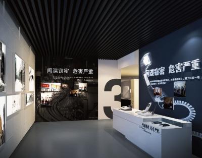 王伟中陈如桂参观保密教育展览