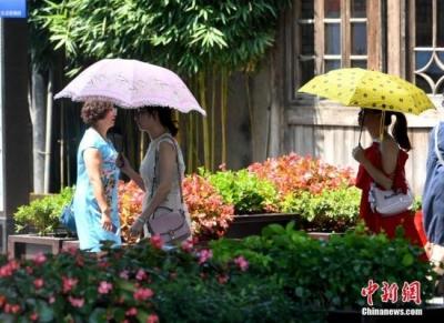 中央气象台发布高温黄色预警 京津冀今可达37-39℃
